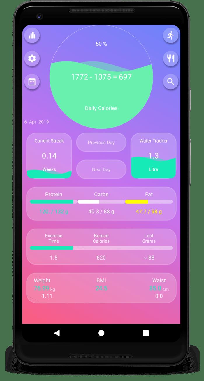 calorie counter app 2019