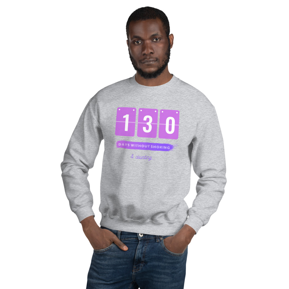 Days without Smoking – Sweatshirt – Unisex
