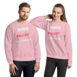 Danger Ex-Smoker 2 – Sweatshirt – Unisex