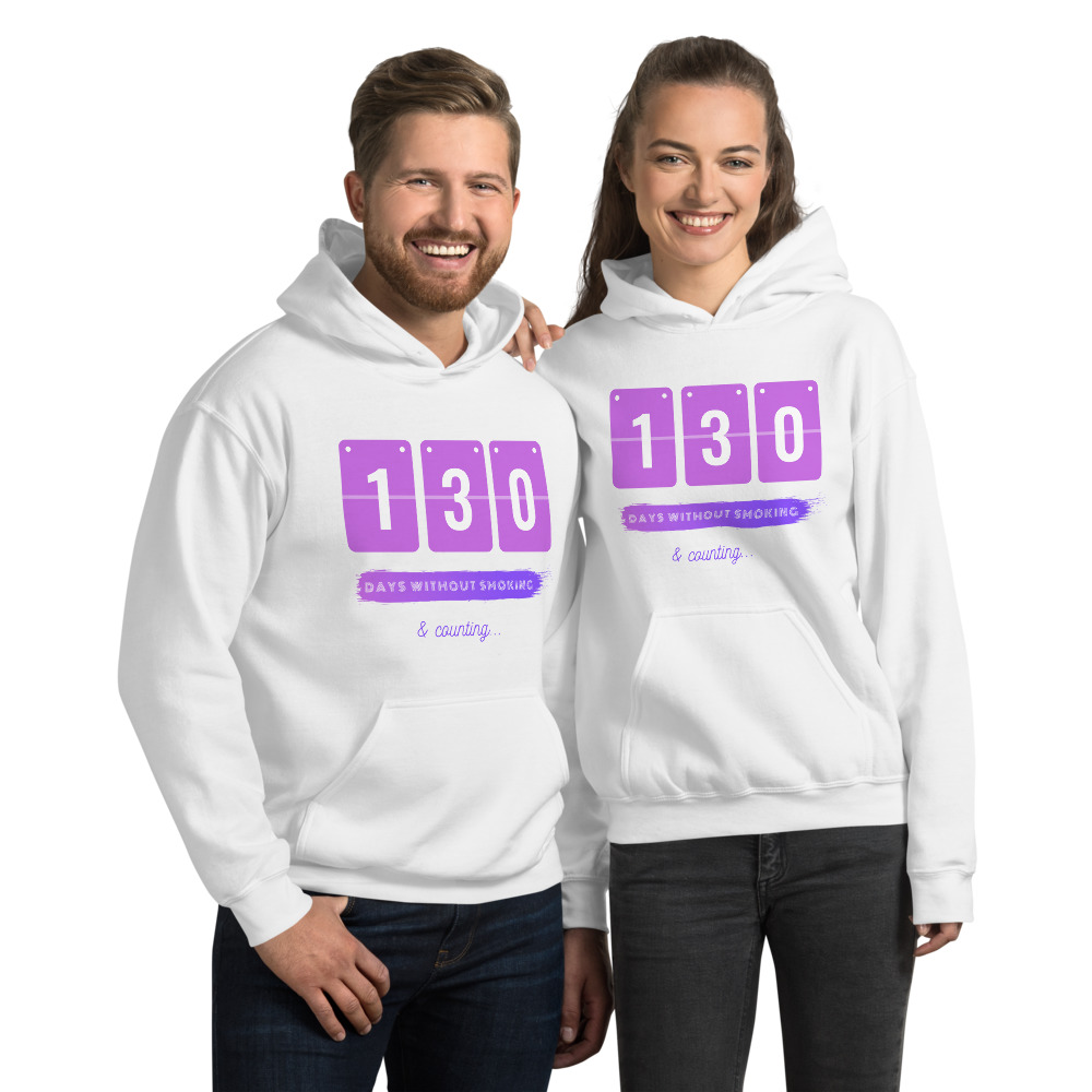 Days without Smoking – Hoodie – Unisex