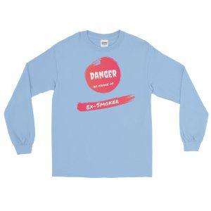 Danger Ex-Smoker – Long Sleeve T-Shirt – Unisex