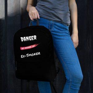 Danger Ex-Smoker 2 – Backpack – Black