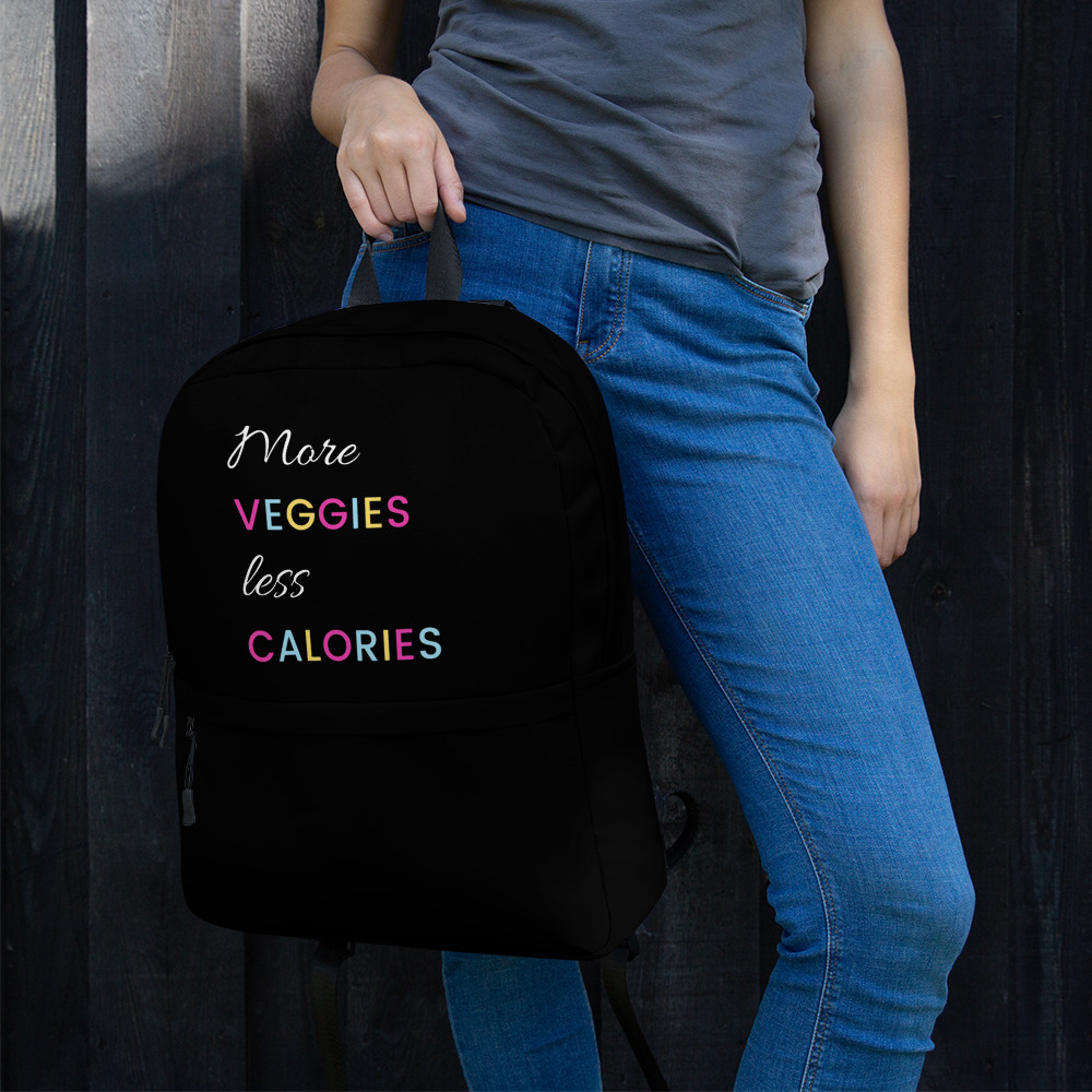 More Veggies Less Calories – Backpack