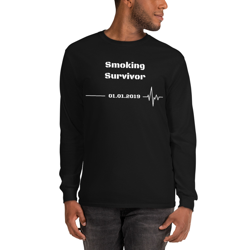 Smoking Survivor – Long Sleeve T-Shirt – Unisex