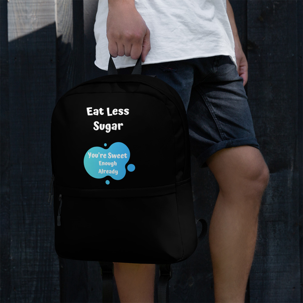 Eat Less Sugar 2 – Backpack