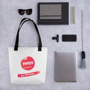 Danger Ex-Smoker – Tote bag