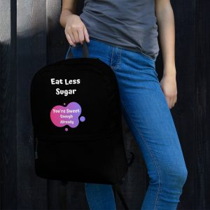Eat Less Sugar – Backpack
