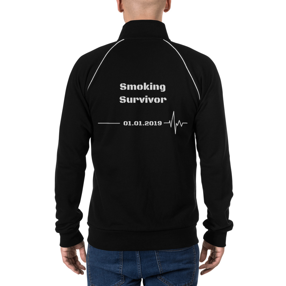 Smoking Survivor – Jacket Unisex – Custom Quit Smoking Date
