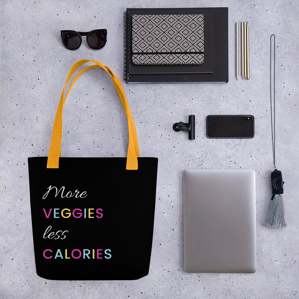 More Veggies Less Calories – Tote bag