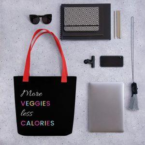 More Veggies Less Calories – Tote bag