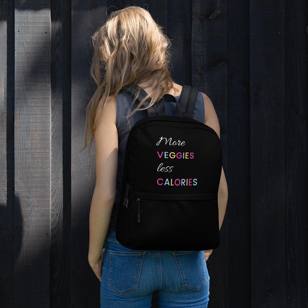 More Veggies Less Calories – Backpack