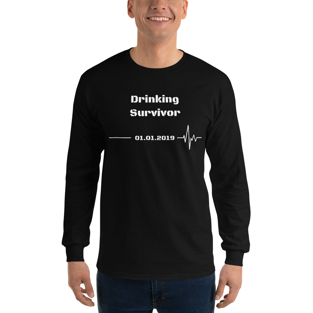 Drinking Survivor – Long Sleeve T-Shirt – Unisex