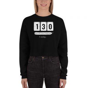 Days without Smoking 2 (EU) – Crop Sweatshirt
