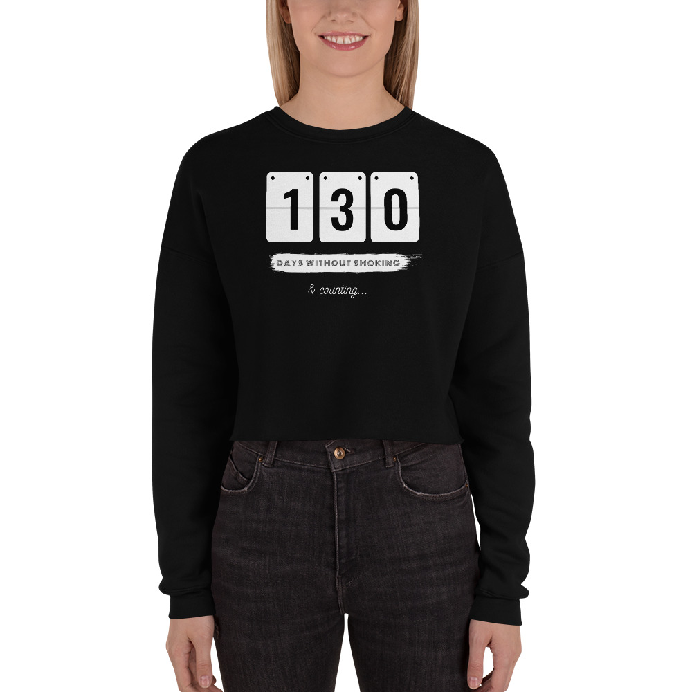 Days without Smoking 2 (EU) – Crop Sweatshirt