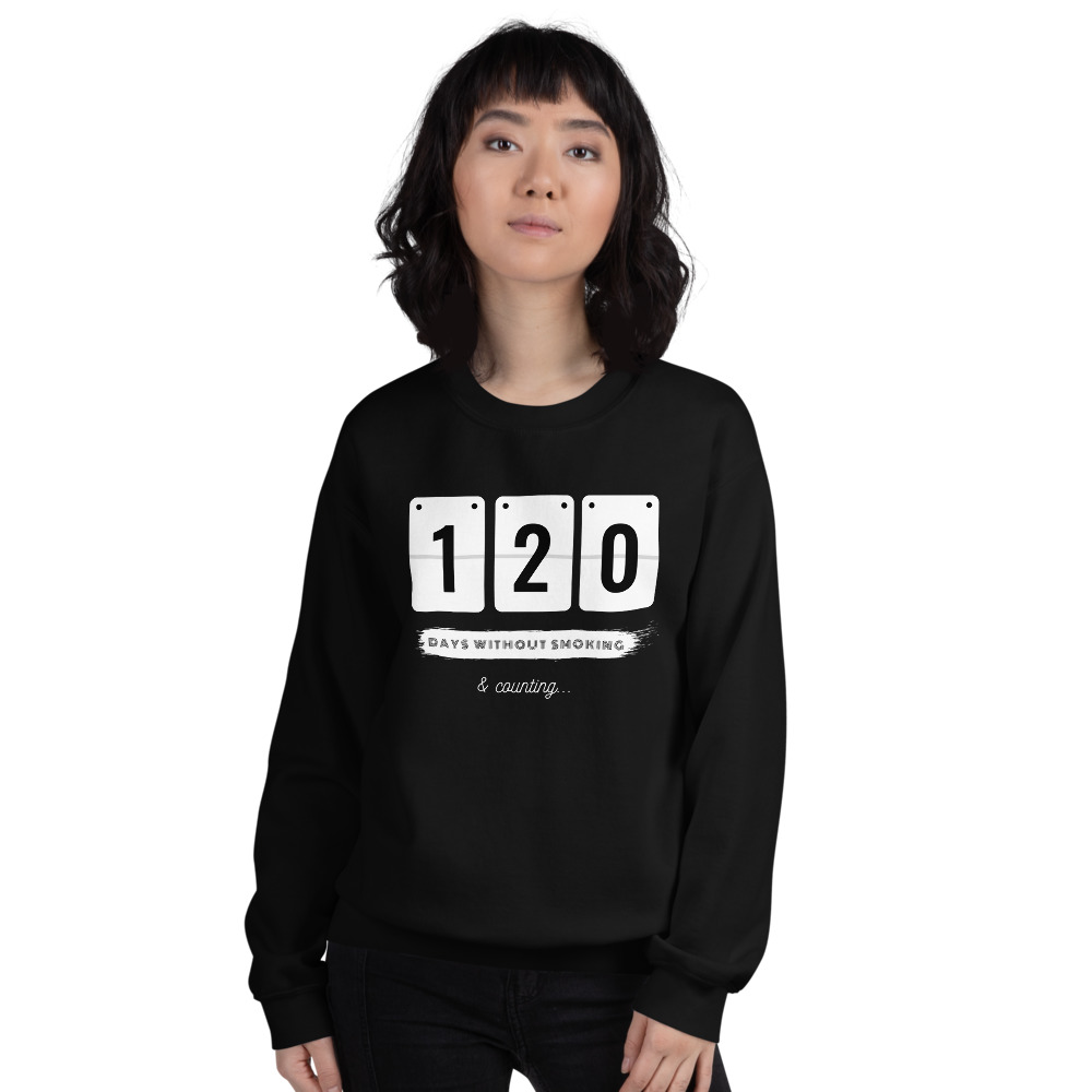 Days without Smoking 2 – Sweatshirt – Unisex