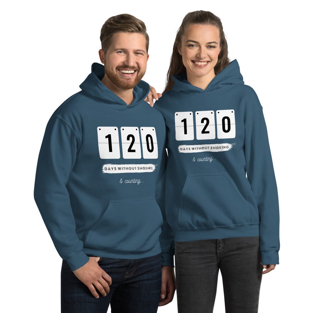 Days without Smoking 2 – Hoodie – Unisex