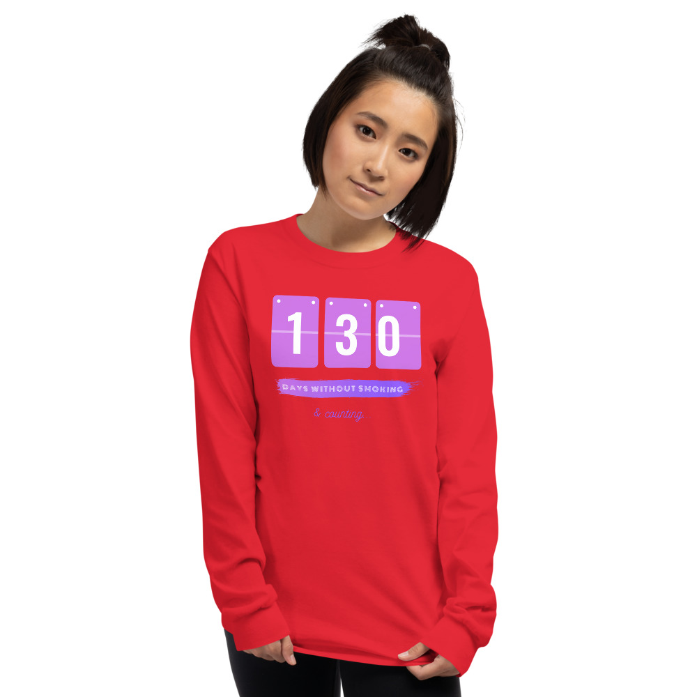 Days without Smoking – Long sleeve T-Shirt – Unisex