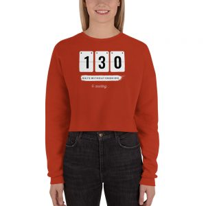 Days without Smoking 2 (USA) – Crop Sweatshirt