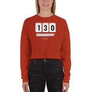 Days without Smoking 2 (USA) – Crop Sweatshirt