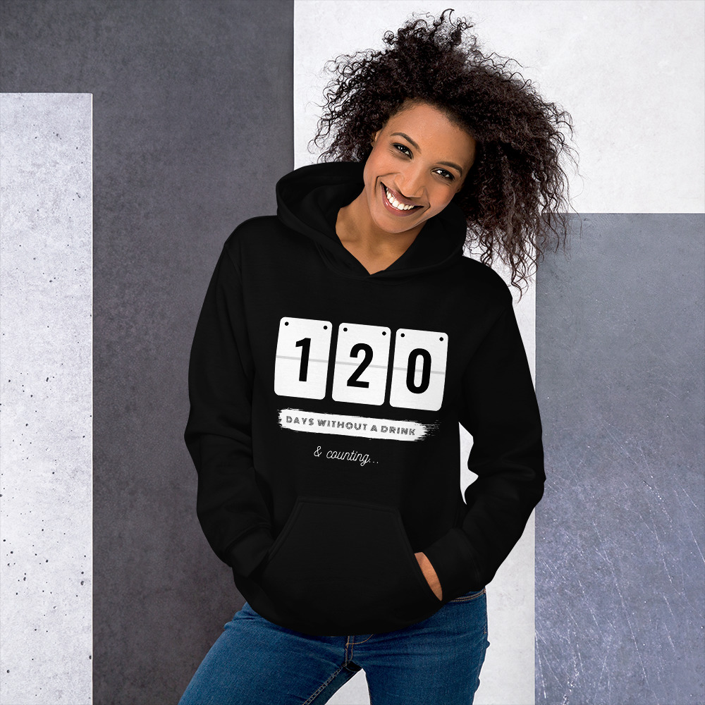 Days without a Drink 2 – Hoodie – Unisex
