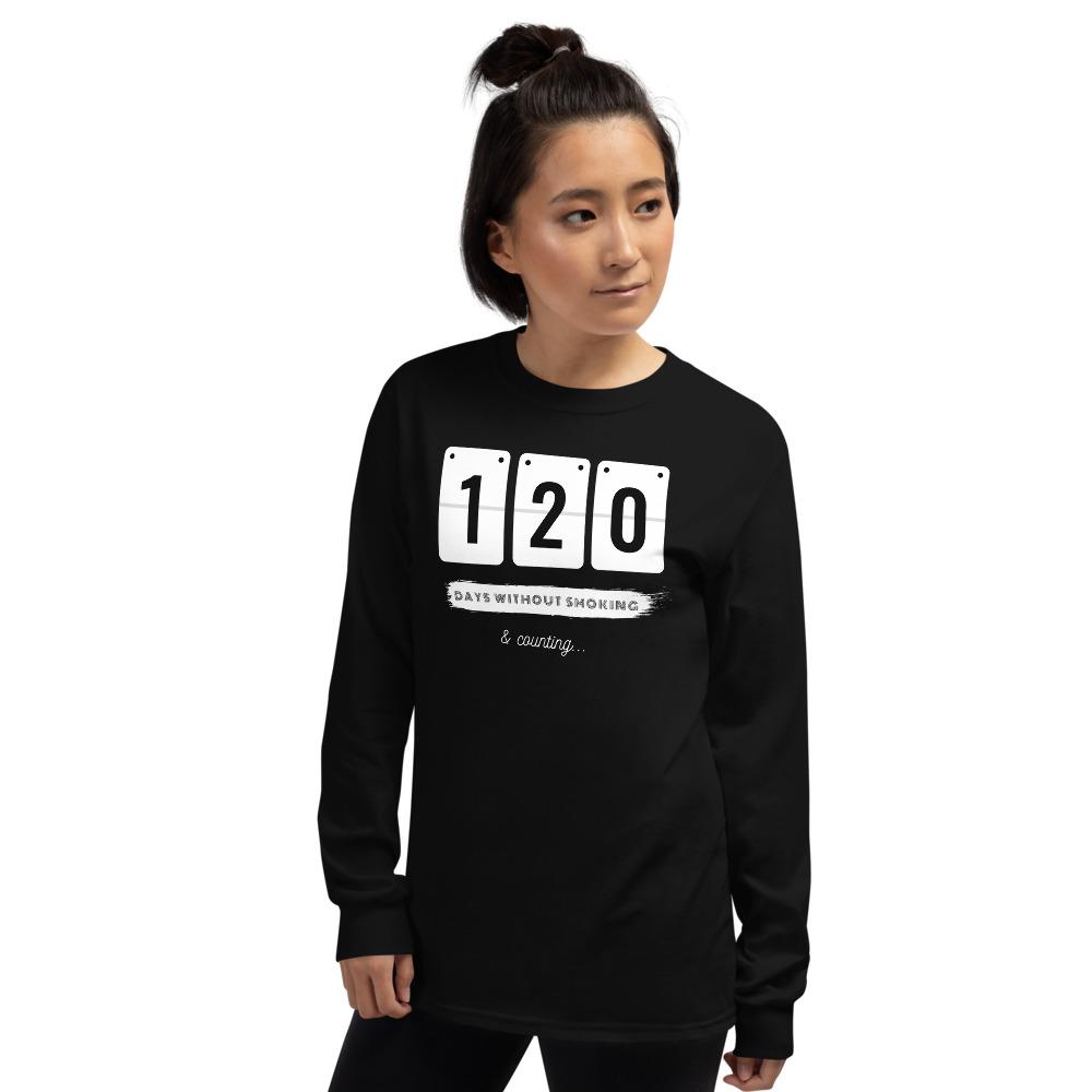 Days without Smoking 2 – Long sleeve T-Shirt – Unisex