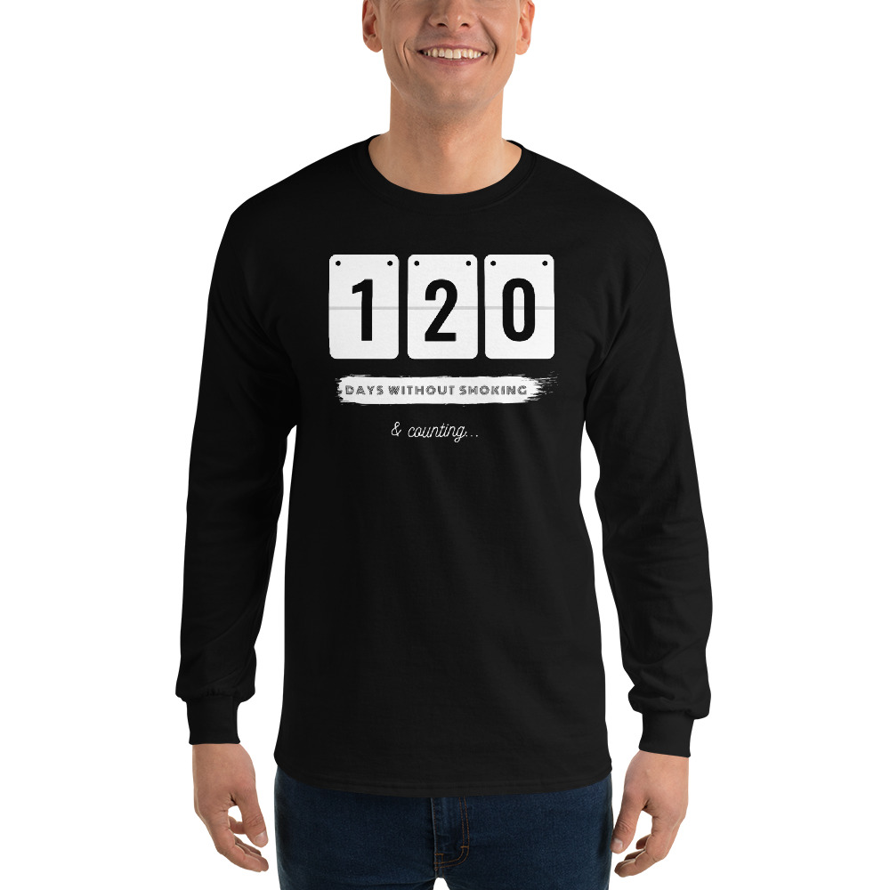 Days without Smoking 2 – Long sleeve T-Shirt – Unisex