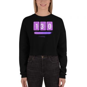 Days without Smoking (EU) – Crop Sweatshirt