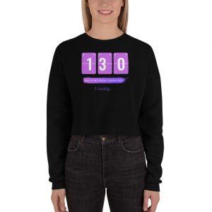 Days without Smoking (EU) – Crop Sweatshirt