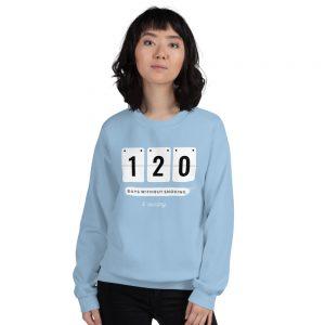 Days without Smoking 2 – Sweatshirt – Unisex