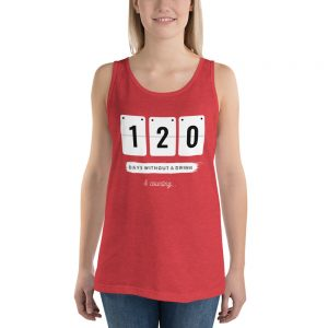 Days without a Drink 2 – Tank Top (USA) – Unisex