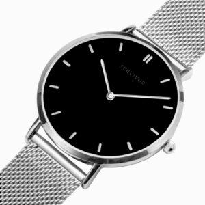 Survivor Quartz Watch – Silver